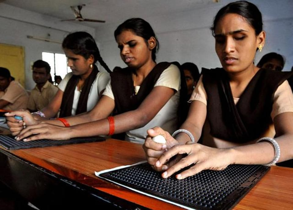 teachers,govt schools,differently abled students