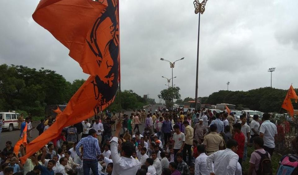 Mumbai,Maharashtra,Maratha stir