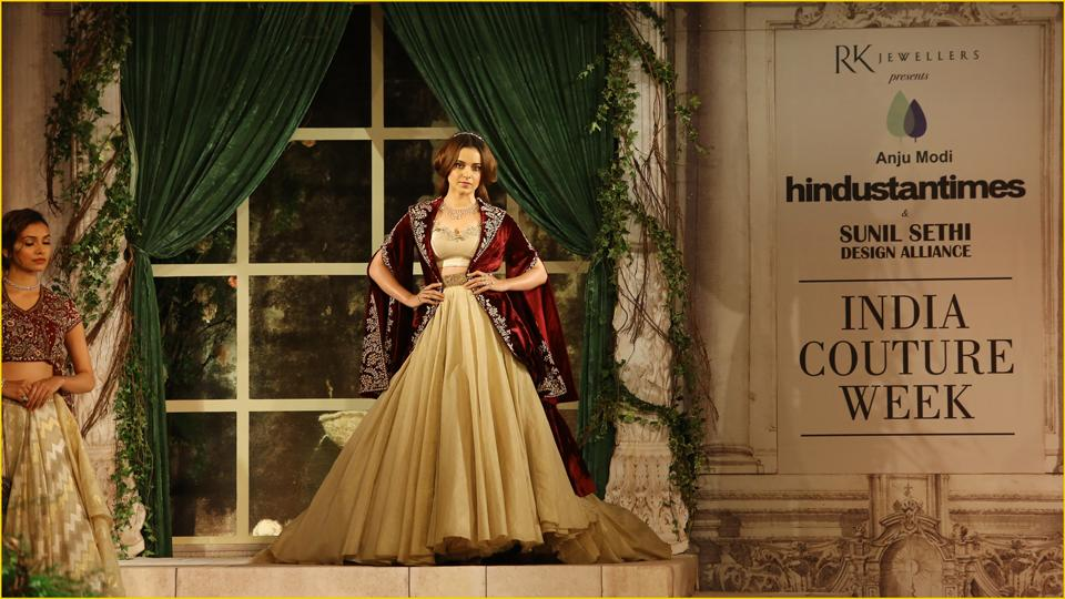 Reminiscent of a royal era: Are you a bride-to-be? Look every inch sophisticated in these colonial era-inspired ornaments by RK Jewellers South Extension II.  (ICW 2018)