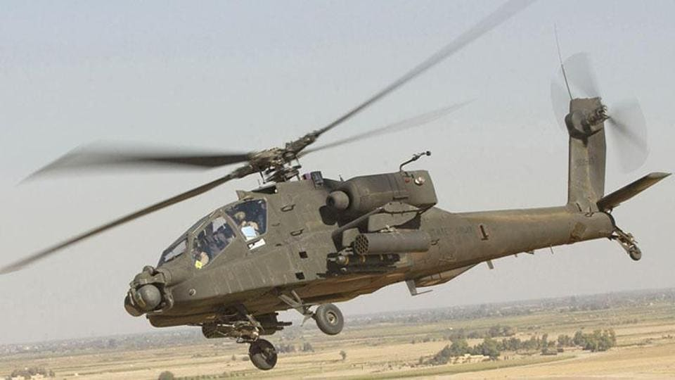 Apache helicopter,Boeing Apache helicopter India,Boeing
