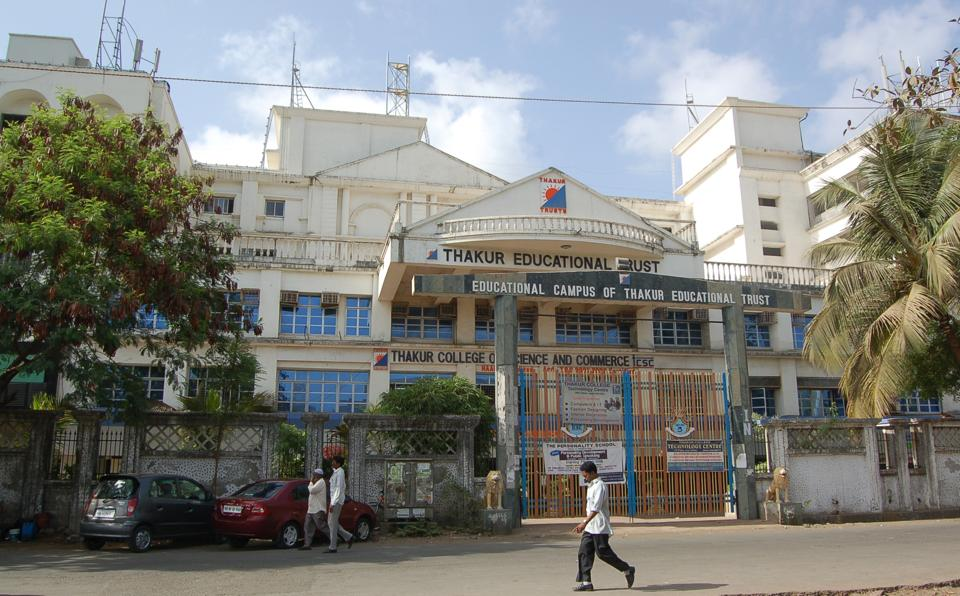 Colleges, such as Thakur College of Commerce and Science, have few to no vacancies under the general category.