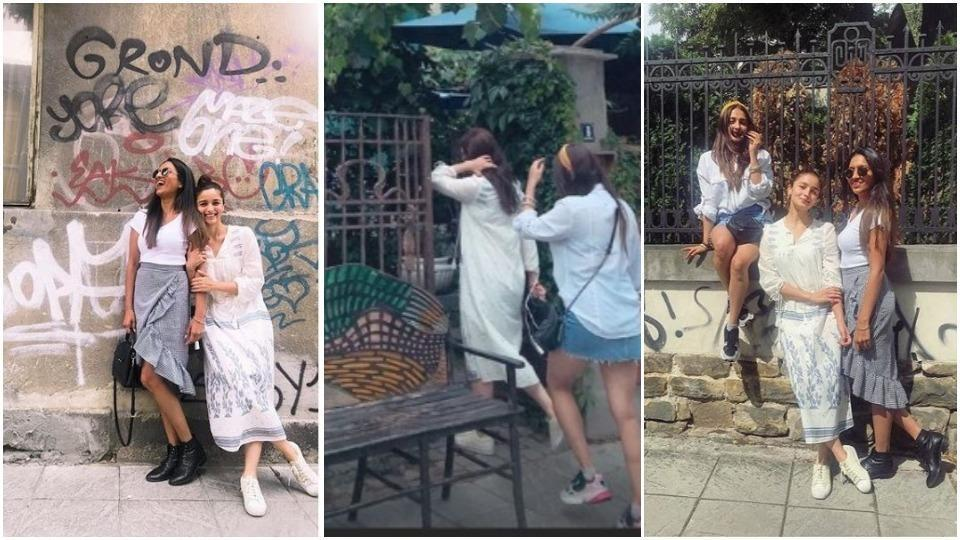 Alia Bhatt is enjoying a great time with her best friends in Bulgaria.