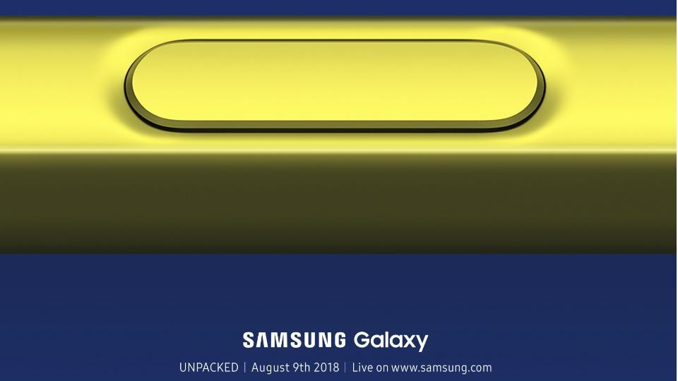 Samsung will host its 'Galaxy Unpacked' event on August 9.