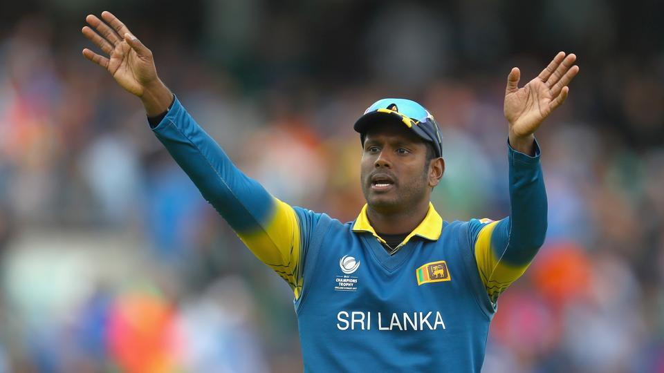 Sri Lanka cricket team,South Africa cricket team,Angelo Matthews