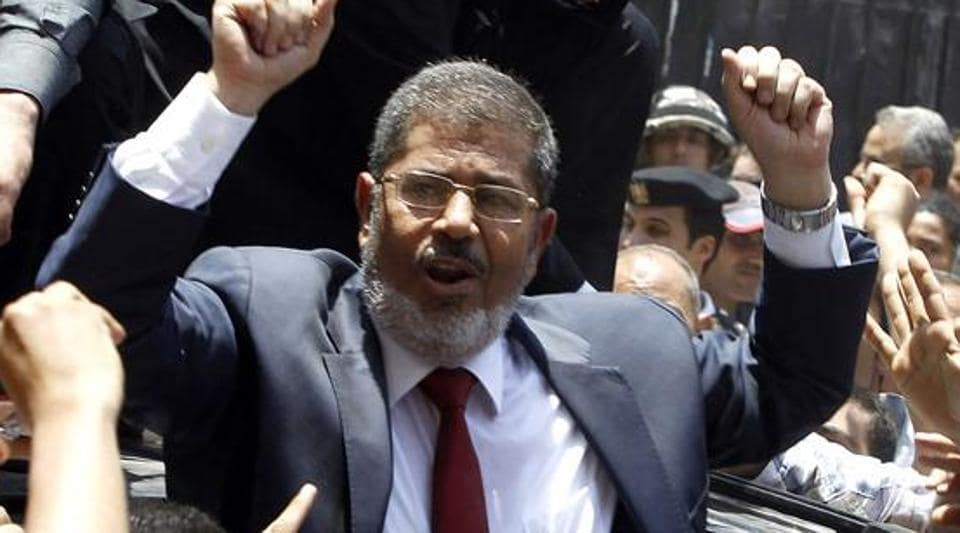 The 2013 protests supported former Islamist President Mohammed Morsi (pictured) who was militarily ousted following mass protests against his divisive one-year rule.