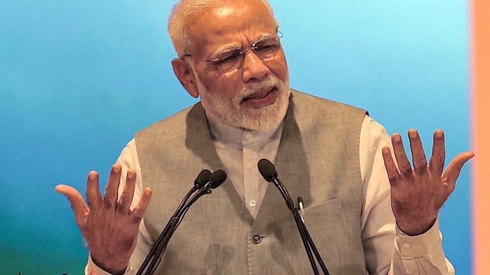 PM Modi said he feels honoured to be a 'bhagidar' of the problems of the poor. He was speaking at an event in Lucknow to mark the third anniversary of three government initiatives related to urban development.