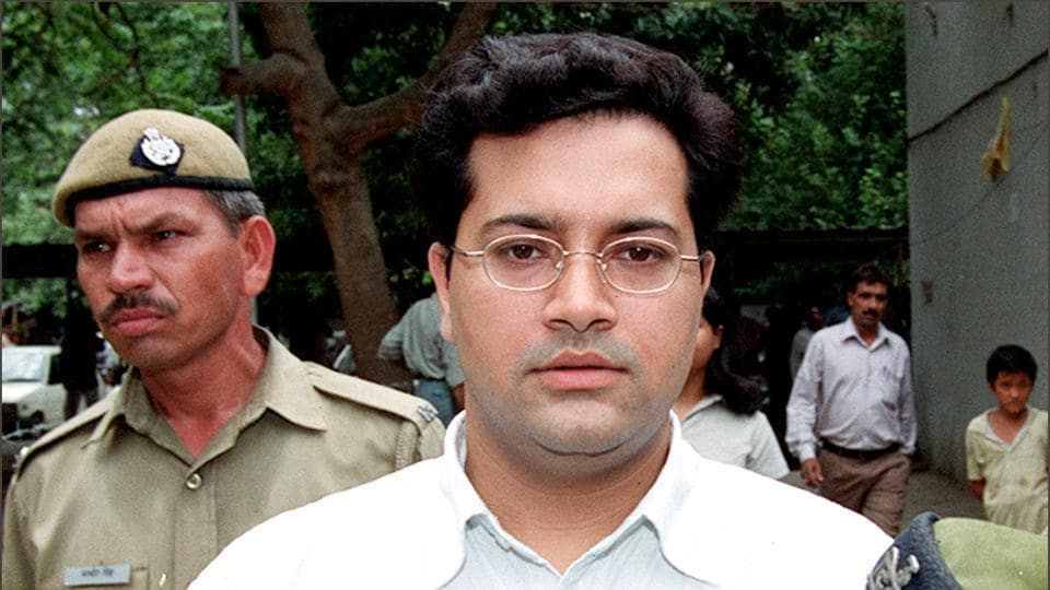 Manu Sharma, main accused in Jessica Lall murder case, at Patiala House Court.