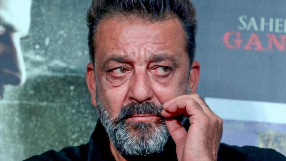 Sanjay Dutt at the trailer launch of Saheb, Biwi Aur Gangster 3.