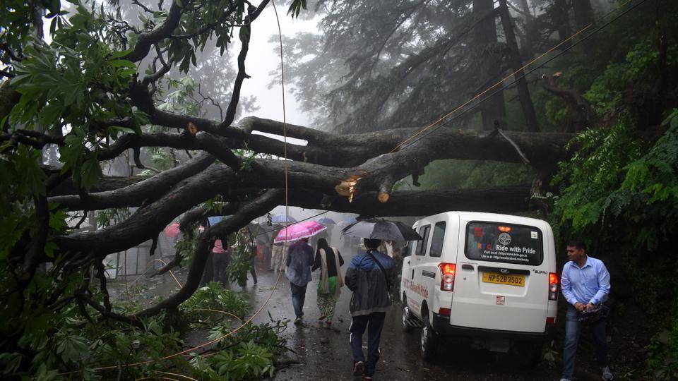 Shrikhand Yatra,Himachal Pradesh,rain