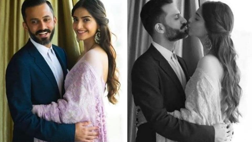 Sonam Kapoor and Anand Ahuja are the perfect couple.(Instagram)