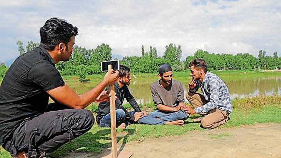 Kashmir,Jhelum river,Srinagar