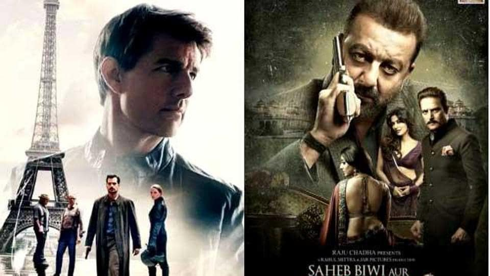 Mission Impossible Fallout,Saheb Biwi Aur Gangster 3,Box office