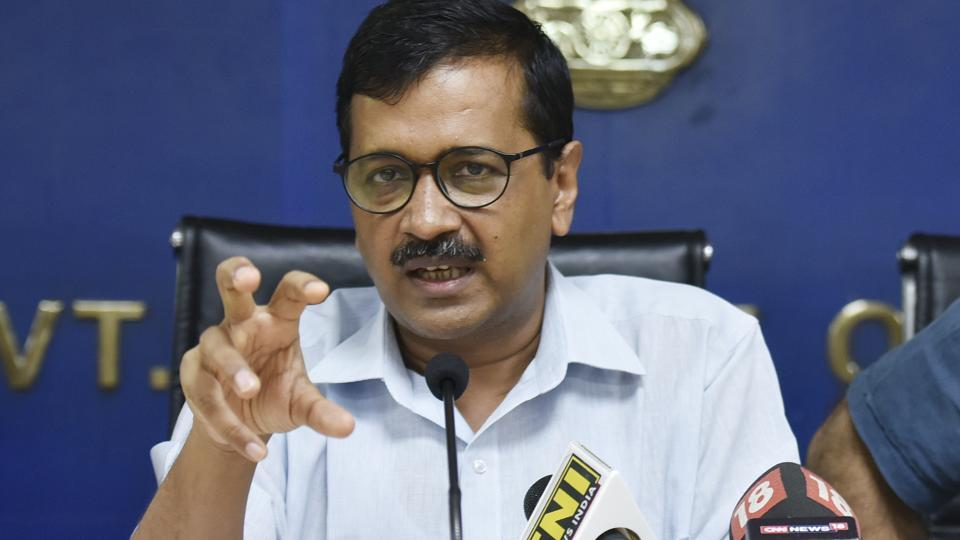 """Delhi chief minister Arvind Kejriwal directed the minister to issue a """"show cause notice"""" to the IT secretary."""