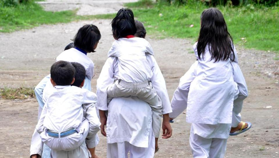 The minor victim joined school six days after she was gang raped.