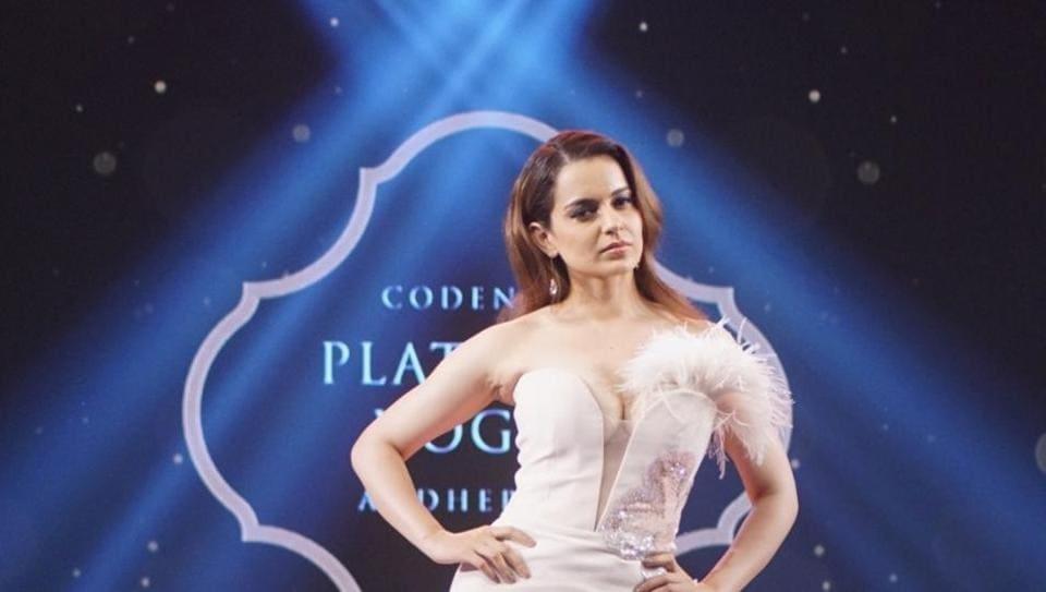 Kangana Ranaut,Kangana Ranaut Narendra Modi,Kangana Ranaut Fashion show