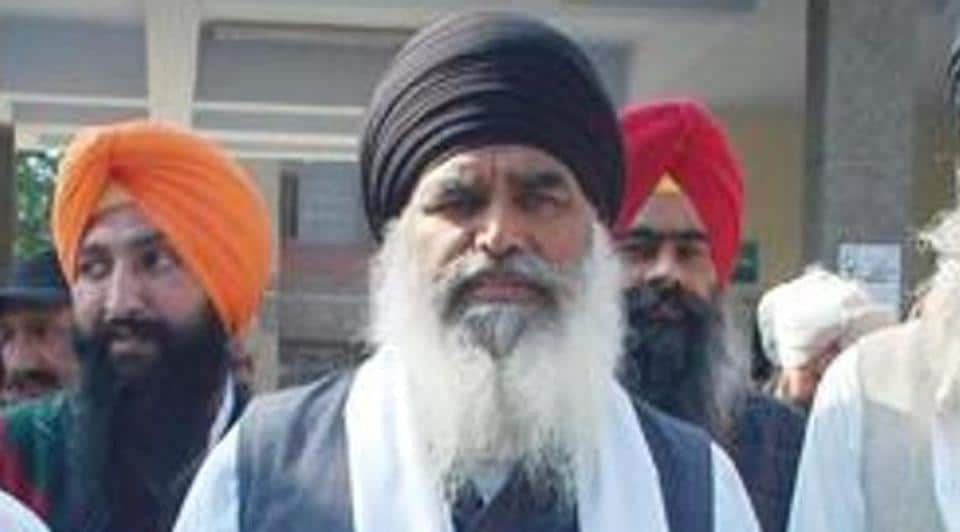 The officiating parallel jathedar of the Akal Takht Dhian Singh Mand.