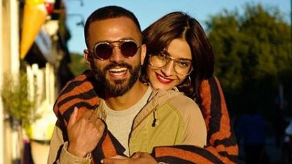 As Anand Ahuja celebrates his birthday today, wife Sonam Kapoor has a surprise for her.