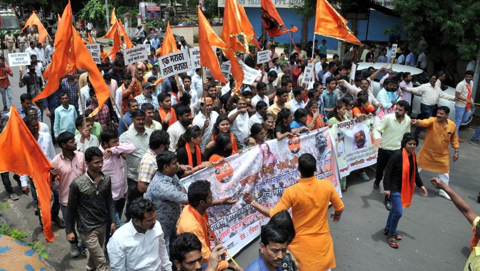 Maratha morcha,Suicide in Aurangabad,Maratha protests