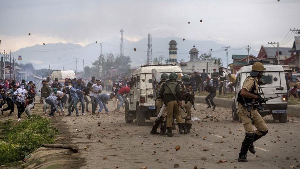 Kashmir,Stone pelting,Militant attacks
