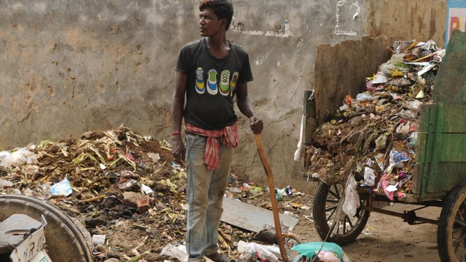 Gurugram,sanitation workers in Gurugram,MCG