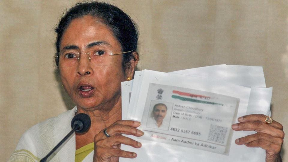 "Bengal chief minister Mamata Banerjee lashed out at Centre on Monday over the draft National Register of Citizens (NRC) which she claimed was a plan to evict Bengalis and Biharis from Assam. ""We are worried because people are being made refugees in their own country. It's a plan to throw out Bengali speaking people and Biharis. Consequences will be felt in our state also,"" Banerjee said at a press conference. (PTI)"