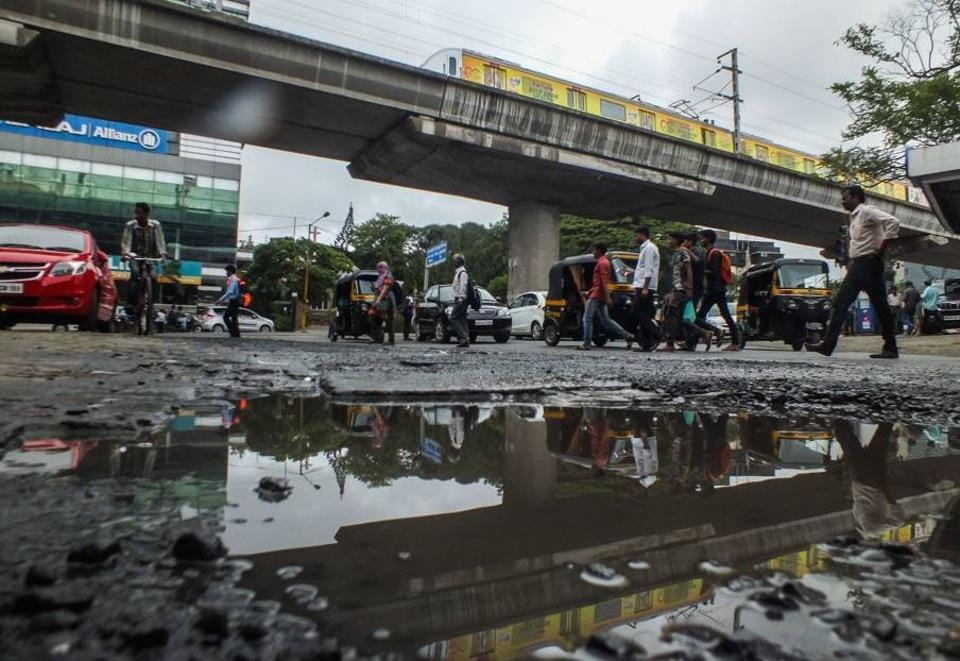 Mumbai,Mumbai roads,pothole horror