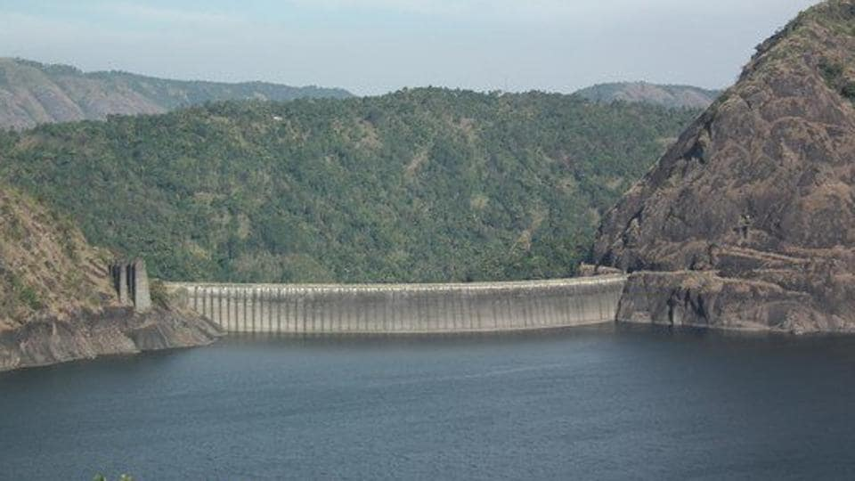 Water level in the Idukki dam touched the brim after 25 years as heavy rain continued to pound many parts of Kerala.