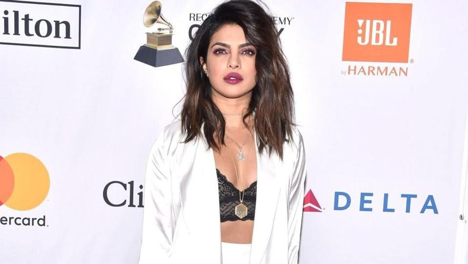 Priyanka Chopra has taught us that the tinier the crop top, the higher the waistline of the skirt or trousers you're pairing it with. (Instagram)