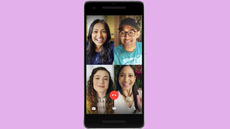 WhatsApp group video and audio calling is now live on Android and iOS.