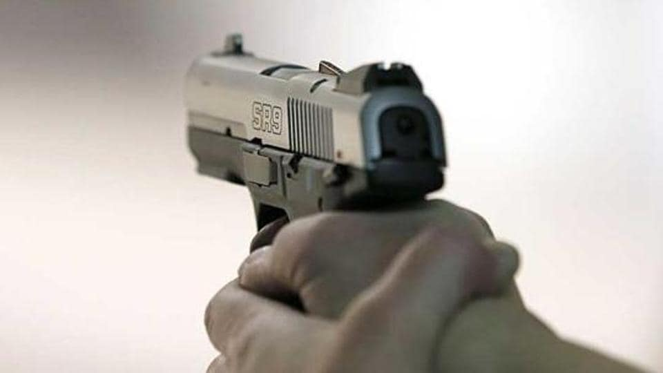 Two employees of a private firm were shot at and robbed of R 40 lakh they were carrying to deposit in a bank in northwest Delhi's Wazirpur on Monday afternoon.