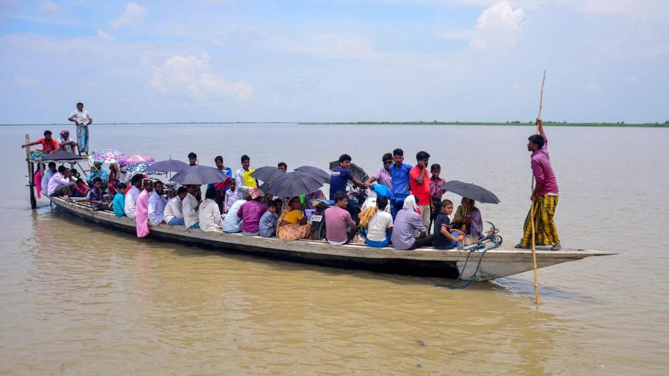 "Villagers arrive by boat to check their names in the final draft of the National Register of Citizens (NRC), at a centre at Goroimari on Monday.  Amid row over the status of those excluded from the NRC list, the Supreme Court on Tuesday said Assam's updated National Register of Citizens (NRC) is a draft and ""no coercive action"" should be taken against people whose names were excluded. (PTI)"