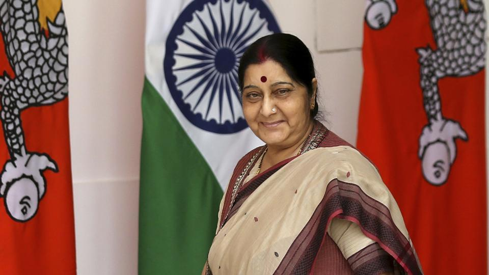 Sushma Swaraj,passport,Sushma Swaraj Twitter