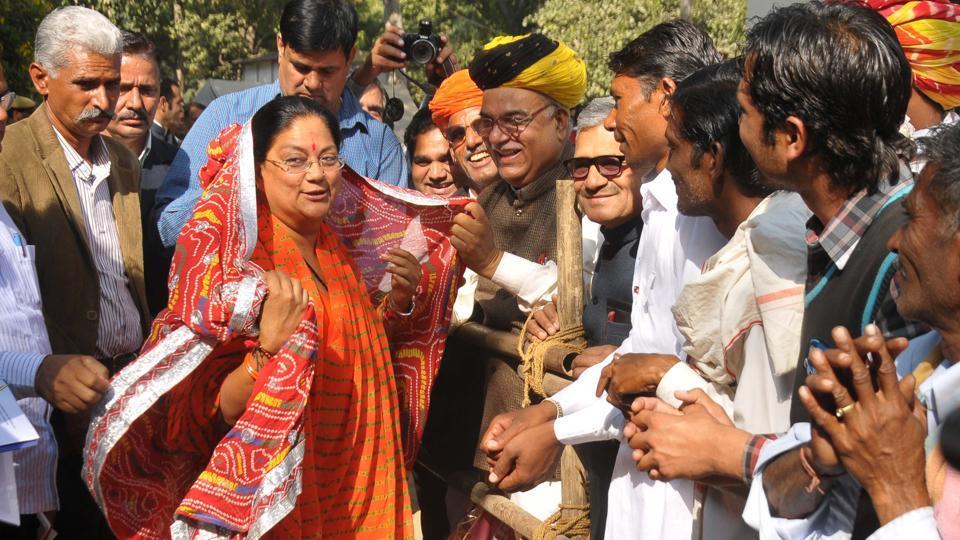 Rajasthan assembly election,Vasundhara Raje,Rajasthan CM Vasundhara Raje
