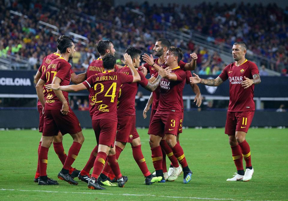 AS ROMA,FC Barcelona,International Champions Cup