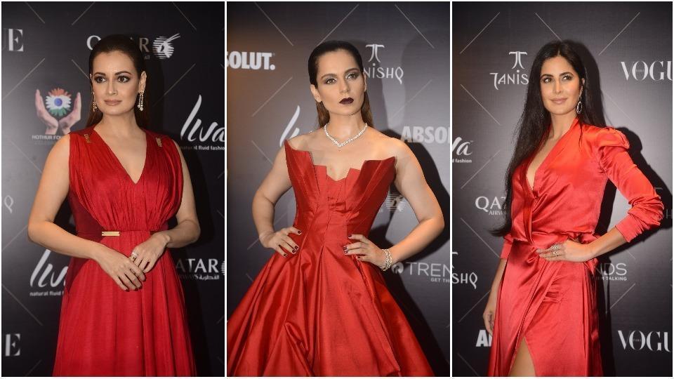 Katrina Kaif,Kangana Ranaut,Vogue Beauty Awards