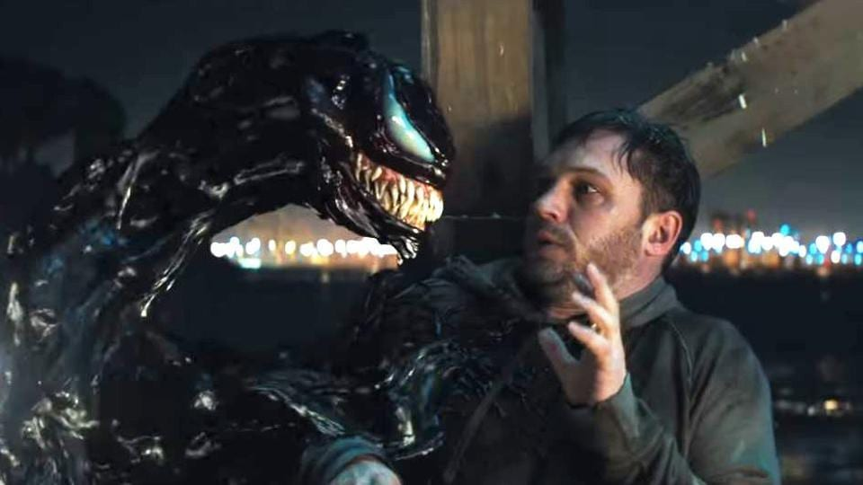 'Venom' full trailer features Tom Hardy doing frightful things