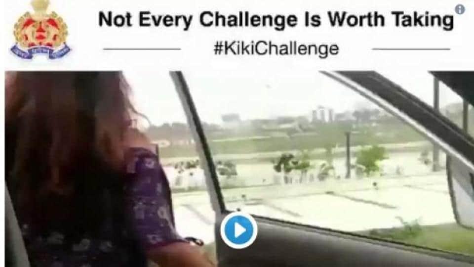 Kiki Challenge: India police warn against unsafe dance trend