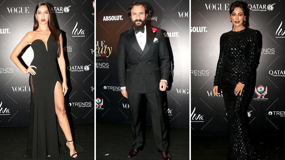 Nora Fatehi, Saif Ali Khan and Chitrangada Singh. Superstars Shah Rukh Khan and Saif Ali Khan, who played Aman and Rohit respectively in 2003's Kal Ho Naa Ho, exchanged a lot of love on the red carpet. (IANS)