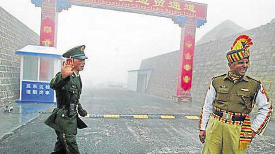 Nathu La,Sino-India border,Special Border Personnel