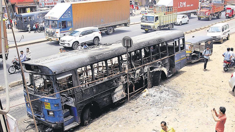Maratha agitation,Maratha Kranti Morcha,CCTV footage