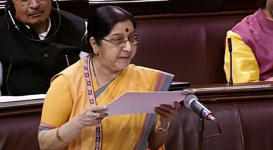 Sushma Swaraj,Wuhan summit,Narendra Modi