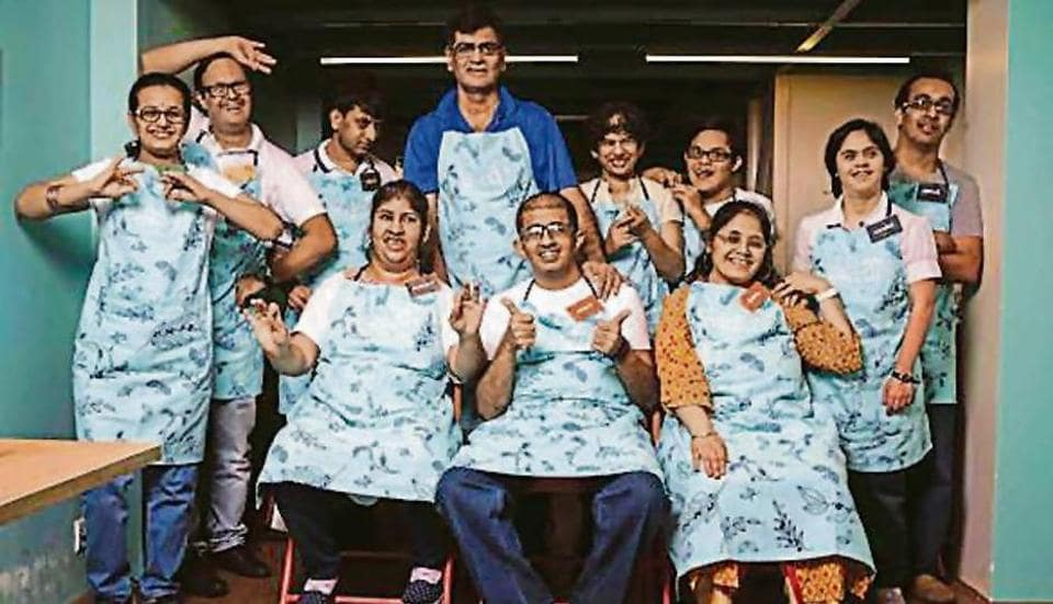 Mumbai cafe,Juhu cafe,cafe run by differently abled people