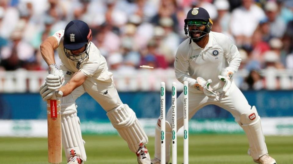 England's Alastair Cook is bowled out by India's Ravichandran Ashwin (Action Images via Reuters)