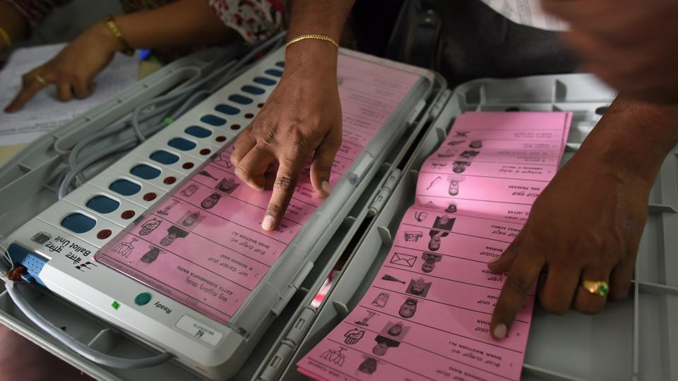 2019 elections,EVM,ballot papers
