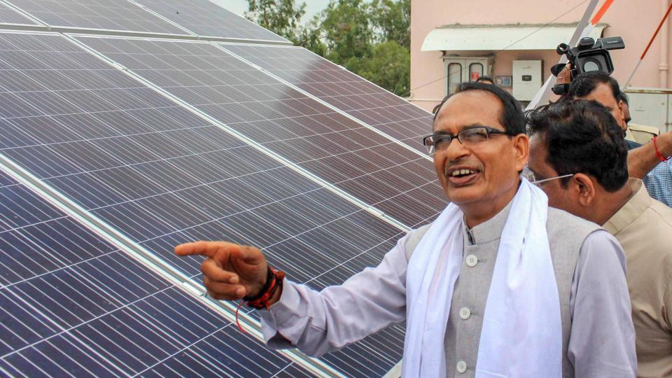 "Chief minister Shivraj Singh Chouhan has repeated his assertion that roads in Madhya Pradesh are better than those in the United States as he criticised the Congress party for making it a ""bimaru"" or an ailing state during its regime. (PTI File)"