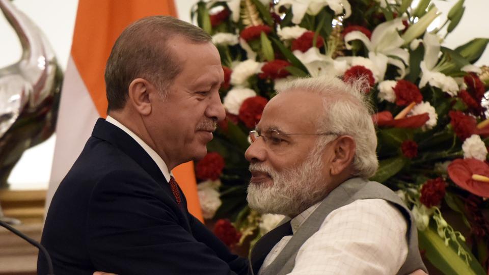 Modi,Erdogan,South Africa