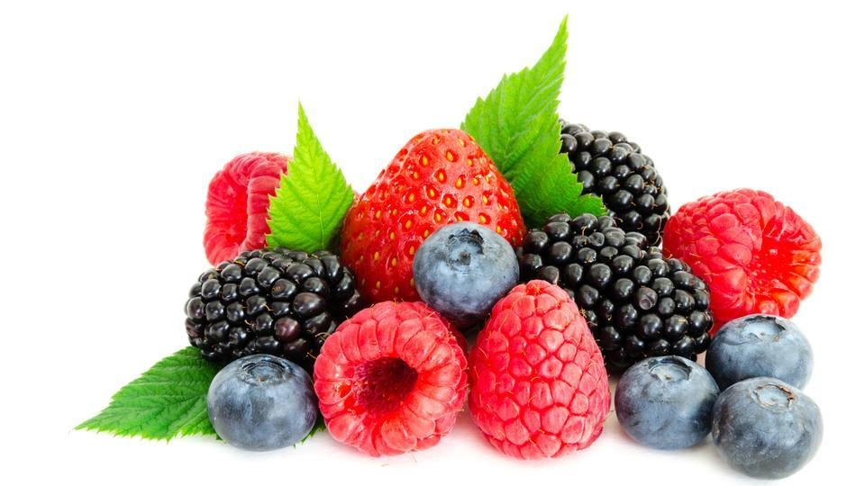 Berries contain compounds and vitamins which are good for the growth of hair. One of these is vitamin C, which has antioxidant properties. Antioxidants are effective in protecting hair follicles from damage from free radicals. The vitamin C which you receive from berries helps the body in producing collagen, which prevents hair from becoming brittle and breaking. (Shutterstock)