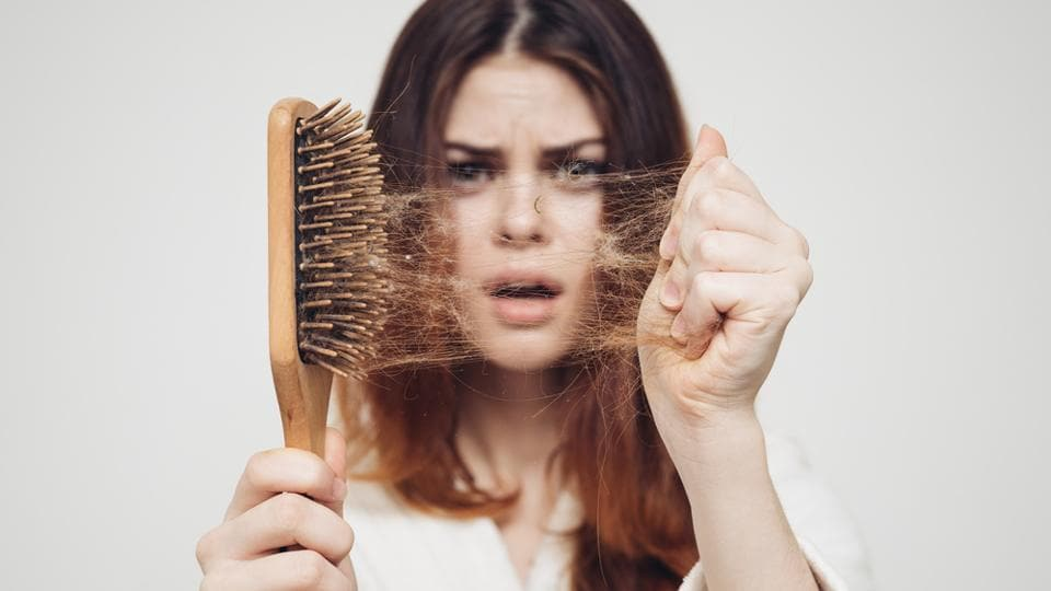 Hair loss is something we all suffer from time to time. What is important is that we take certain measures to stop this, which is possible through changing certain lifestyle factors, the most important being our diet. Berries, nuts, seeds and other food items help in strengthening the hair and stop hair loss, when consumed on a regular basis.  (shutterstock)