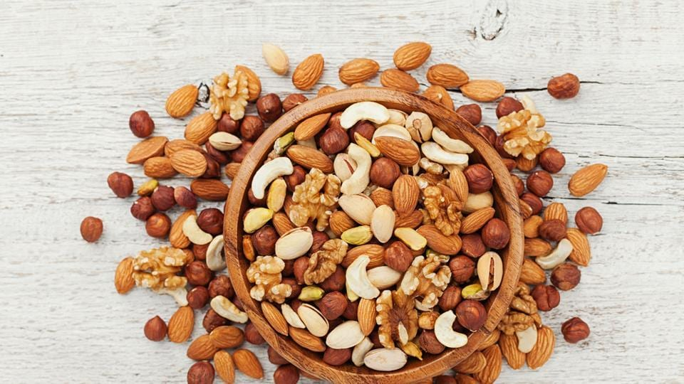 Nuts like almonds fulfil a large part of your daily vitamin E needs and also provide us with a lot of B vitamins and zinc. If you are deficient in any of these, you can experience hair loss.  (Shutterstock)