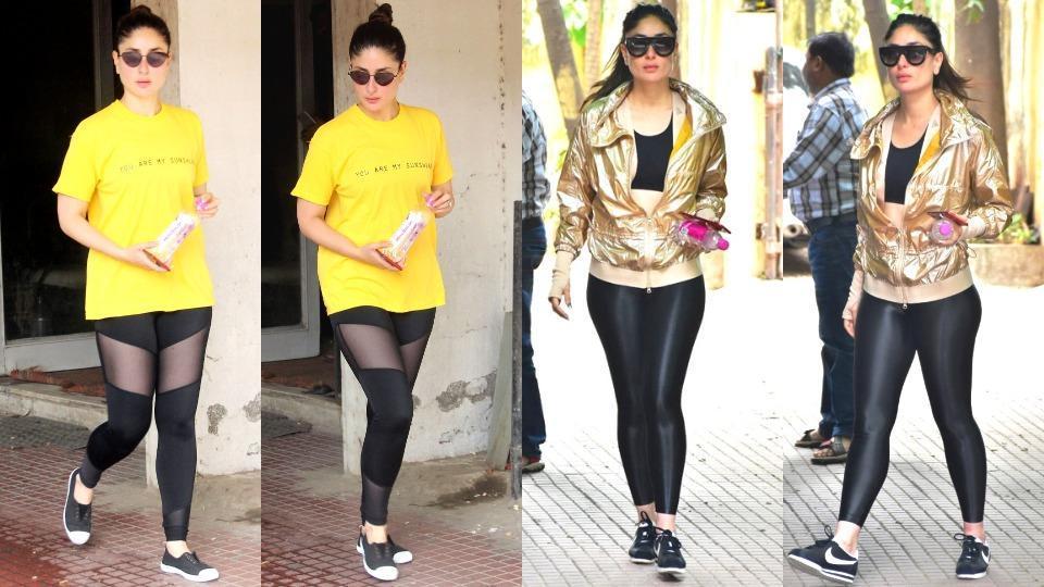 Kareena Kapoor,kareena kapoor Khan,gym Look